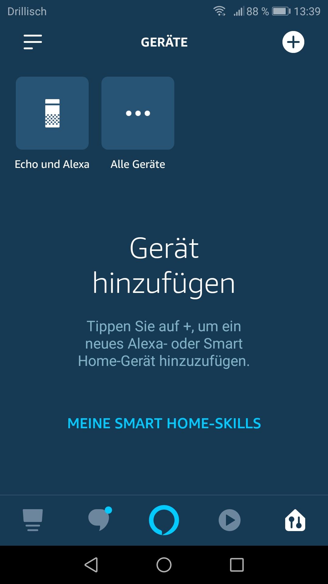 Smartphone App: Neues Steckdose hinzufügen