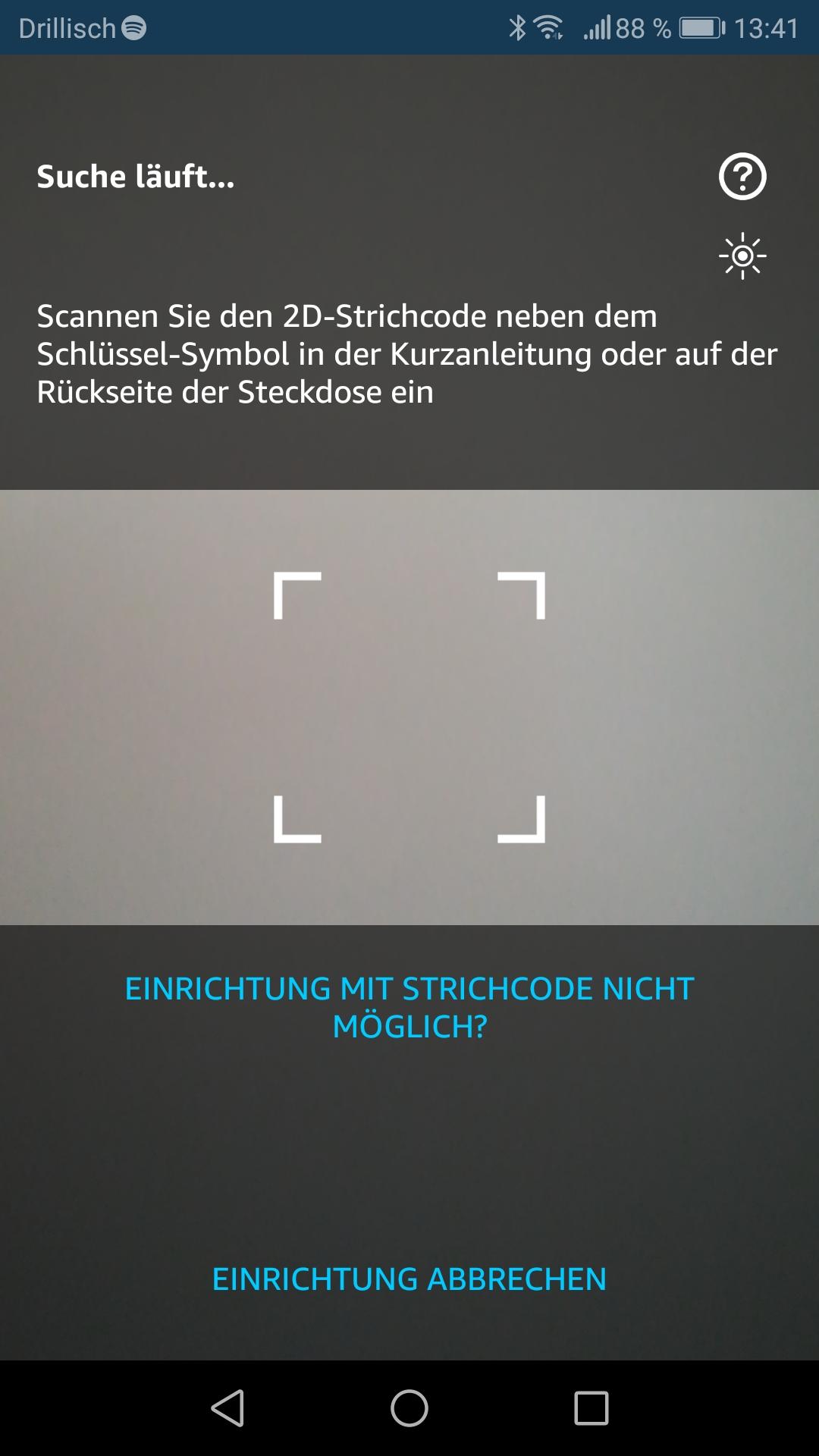 Smartphone App: QR-Code Scannen