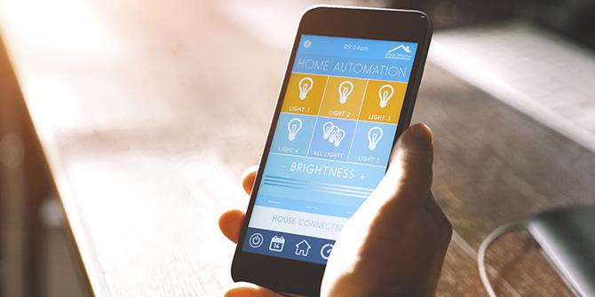 Smartphone als Lichtschalter