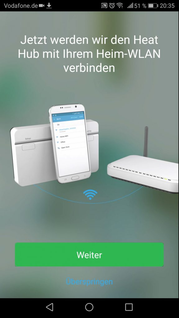 Wiser App Installation Smart Hub