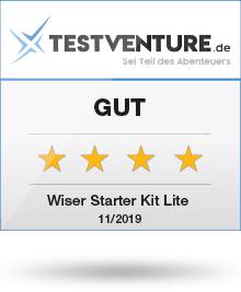 Testlogo Wiser Starter Kit Lite Gut Testventure