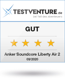 Testlogo Award Anker Soundcore Liberty Air 2