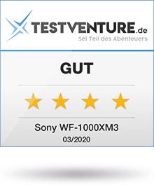 Sony WF-100XM3 Testlogo Award Testventure