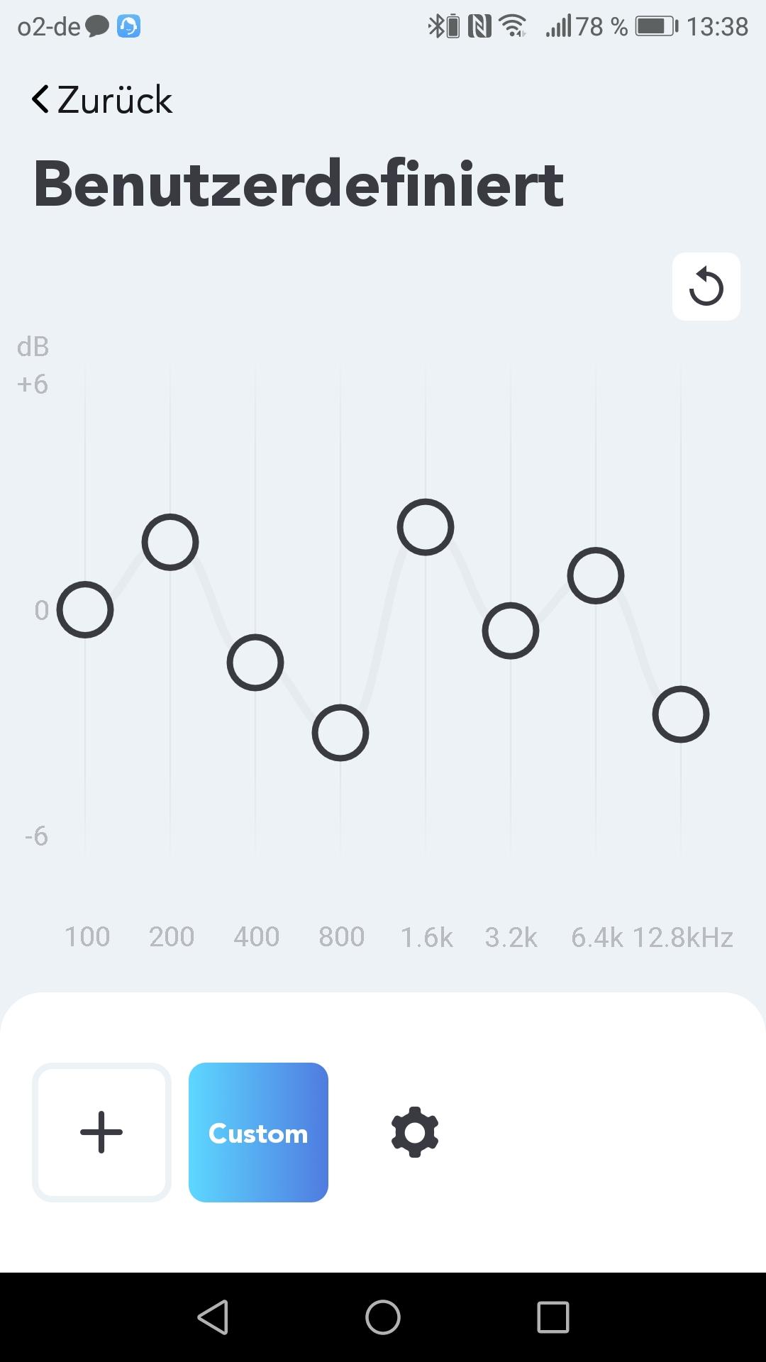 Soundcore App Custom Equalizer