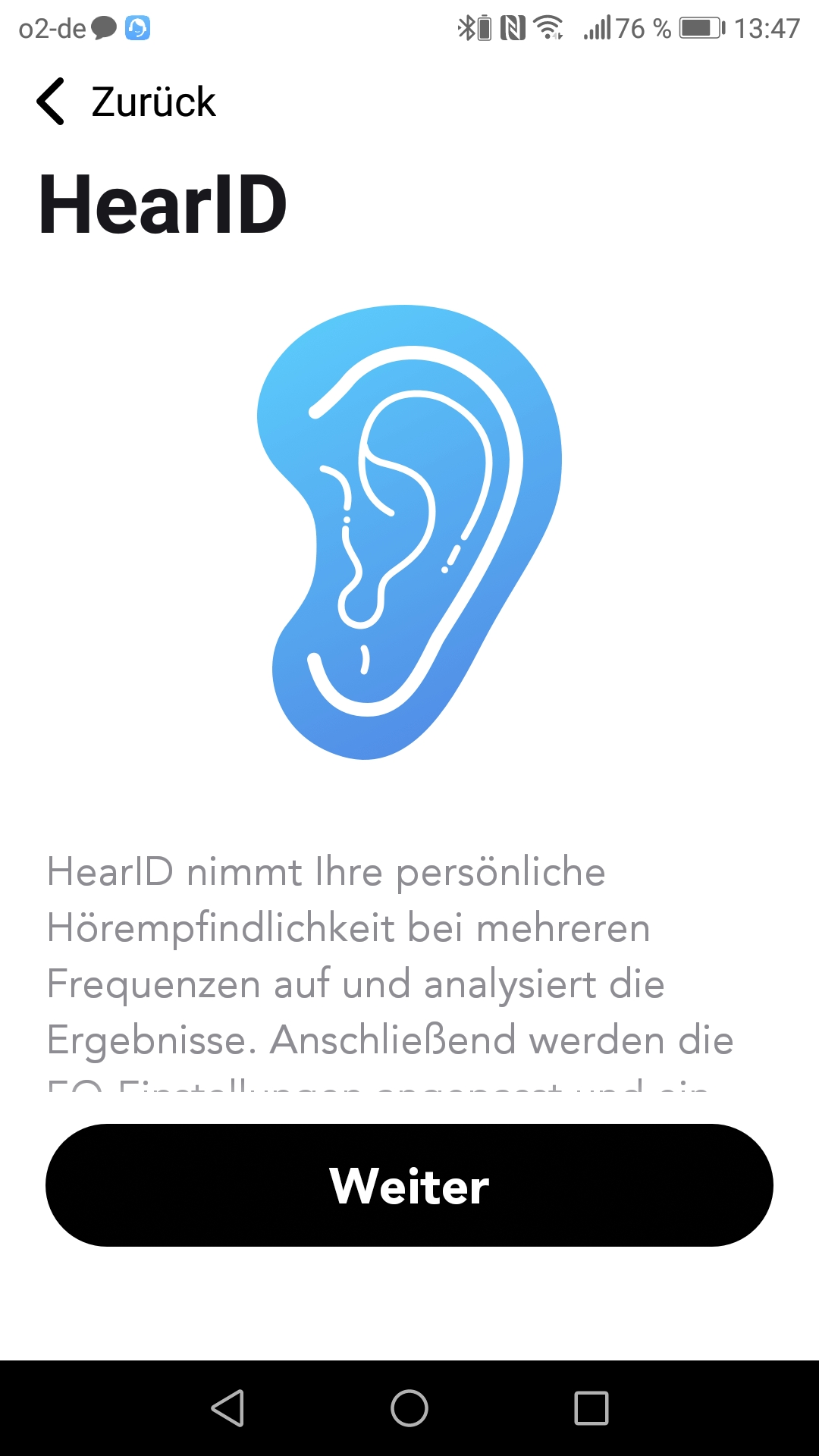 Soundcore App Hear ID Einleitung