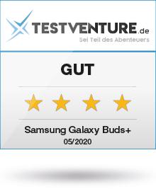 Award Testlogo Samsung Galacxy Buds Plus Testventure Gut