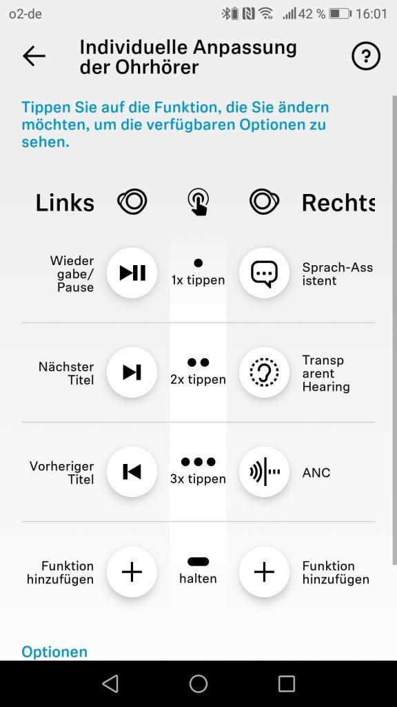 Sennheiser App Individualisierbare Steuerung 1