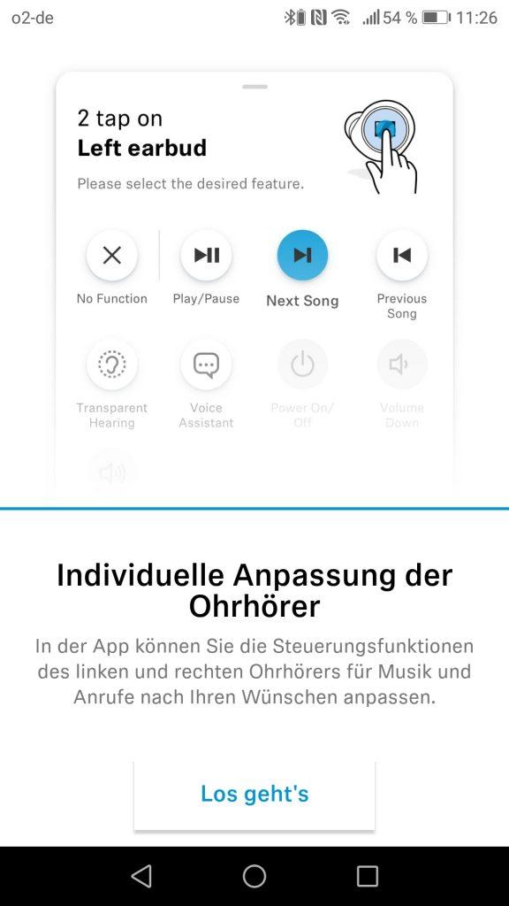 Sennheiser App Individualisierbare Steuerung 2