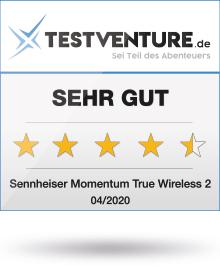 Sennheiser Momentum True Wireless 2 Award Testventure Sehr Gut