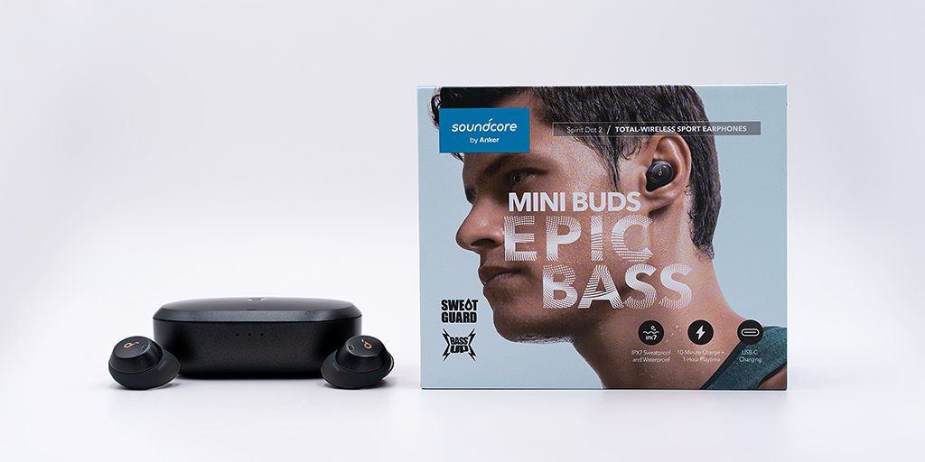 Soundcore Spirit Dot 2 Review - Ladecase mit Verpackung
