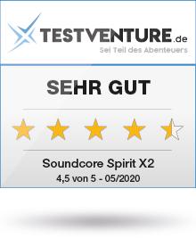 Anker Soundcore Spirit X2 Testlogo Award Sehr Gut Testventure