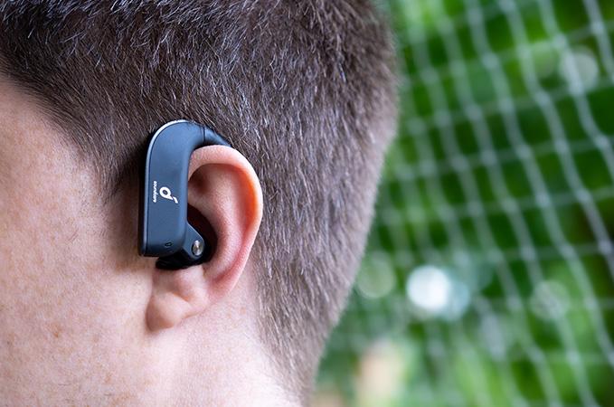 Anker Soundcore Spirit X2 im Ohr beim tragen