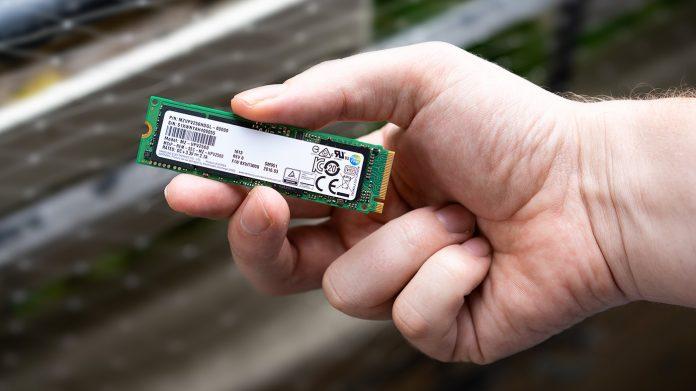 M2 SSD Festplatte