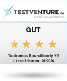 Testsiegel Gut Testventure Taotronics Soundliberty 79
