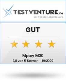 Mpow M30 Testsiegel