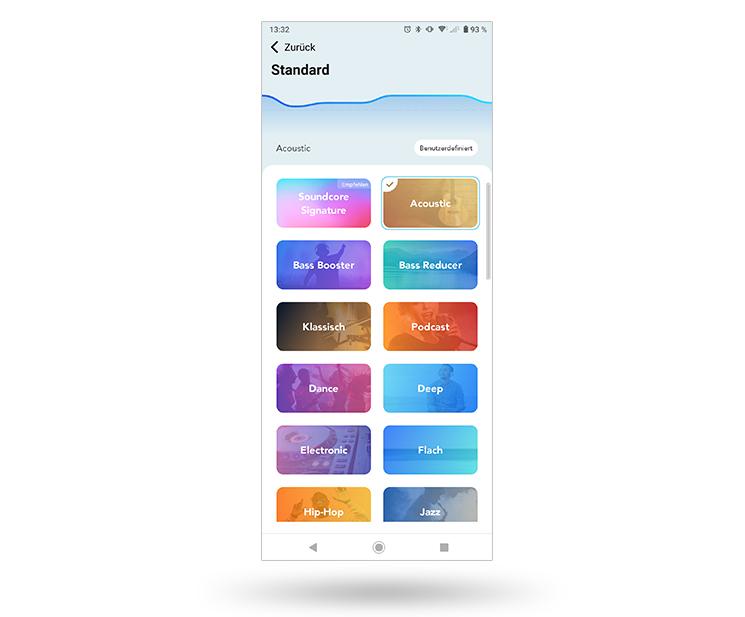 Soundcore App Screenshot Equalizer