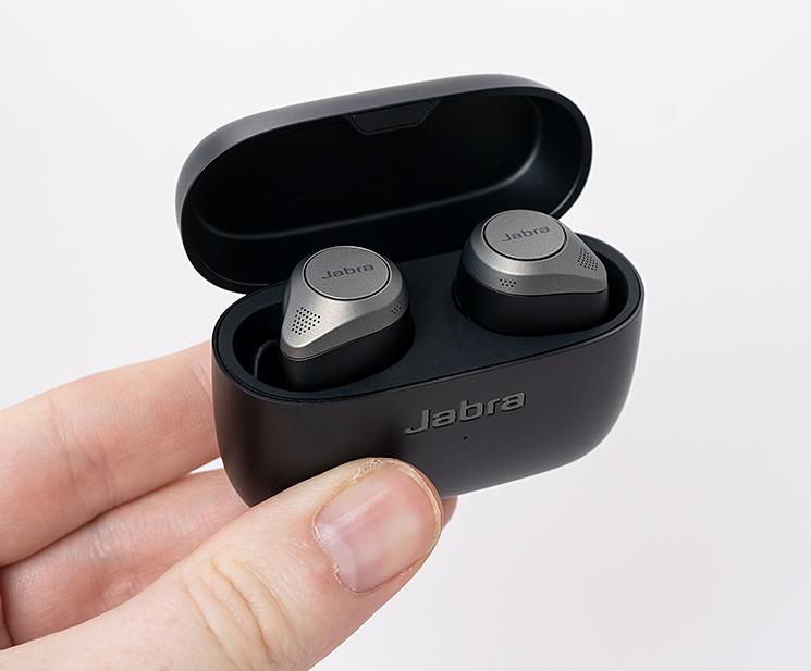 Jabra Elite 85t True Wireless Kopfhörer Ladecase offen