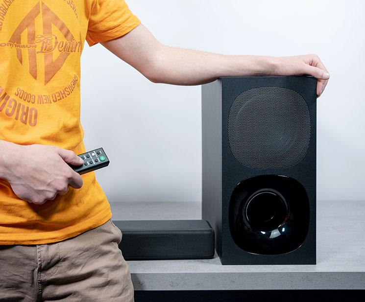 Abbildung zeigt die Sony Soundbar HT G700