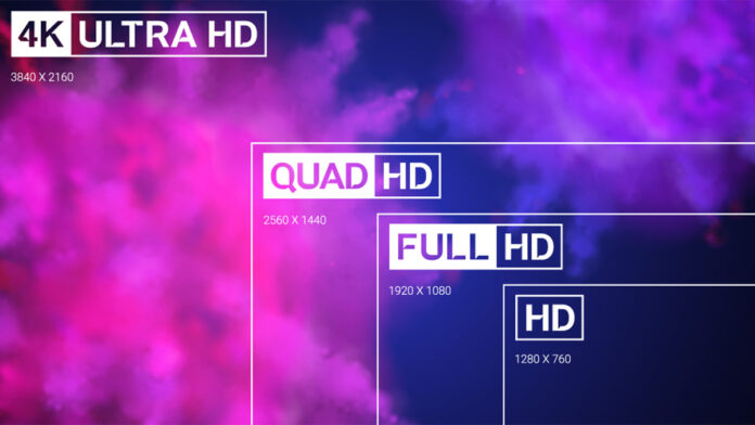 WQHD oder 4K Auflösung