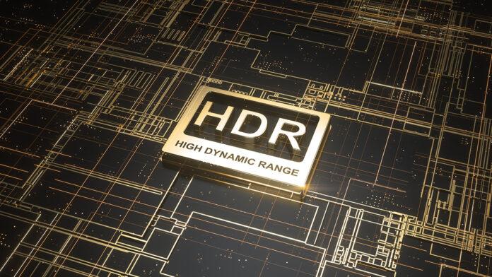 Abbildung zeigt ein HDR Logo