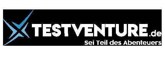 Abbilund zeigt das Testventure Logo