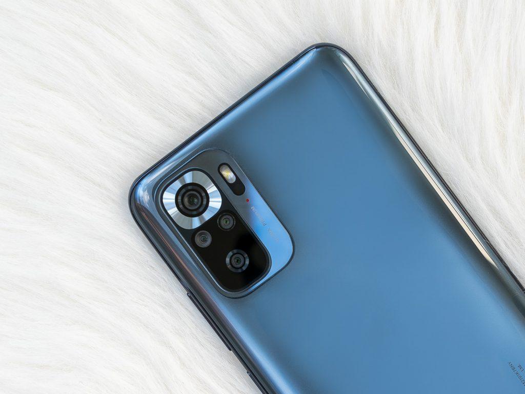 Abbildung zeigt die Kamera vom Xiaomi Redmi Note 10S
