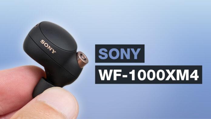 Sony WF 1000XM4 Test