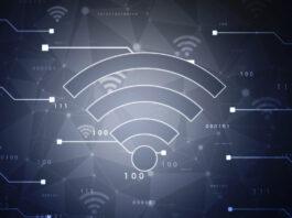 2d illustration WiFi symbol sign